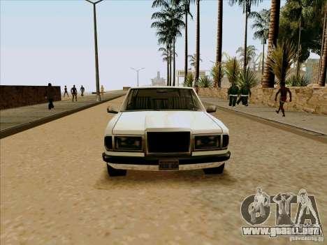 Admiral Limo para la visión correcta GTA San Andreas