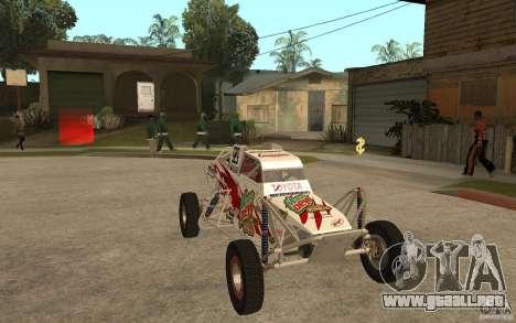 CORR Super Buggy 1 (Schwalbe) para GTA San Andreas vista hacia atrás