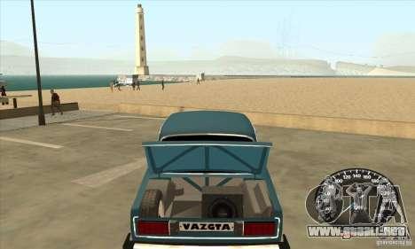VAZ 2106 Tuning luz para la visión correcta GTA San Andreas