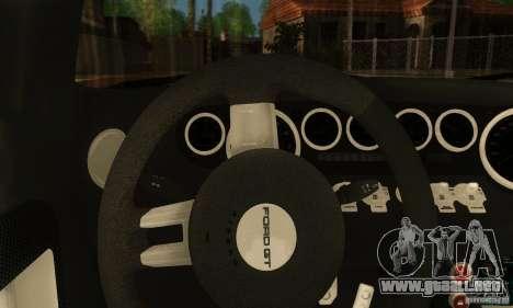 Ford GTX1 Roadster V1.0 para la visión correcta GTA San Andreas