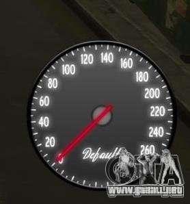 Velocímetro IV (2 Skins) para GTA 4 segundos de pantalla