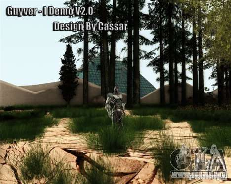 Guyver-I Demo para GTA San Andreas