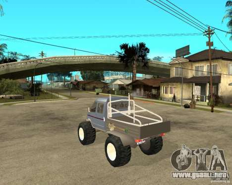 GAS KeržaK (Swamp Buggy) para GTA San Andreas left