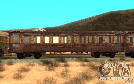 Un tren del juego s.t.a.l.k.e.r. para GTA San Andreas left