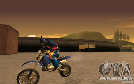 Red Bull Clothes v1.0 para GTA San Andreas undécima de pantalla