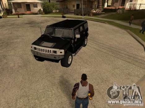 Sistema de alarma para coches para GTA San Andreas tercera pantalla