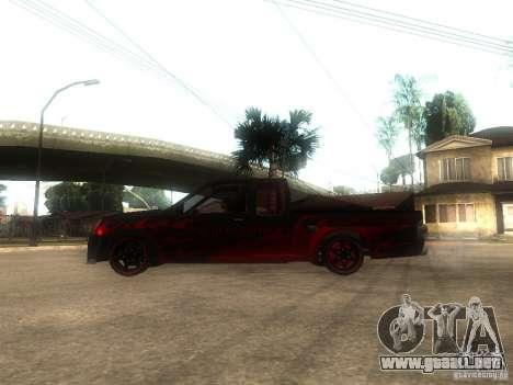 Isuzu D-Max para GTA San Andreas left