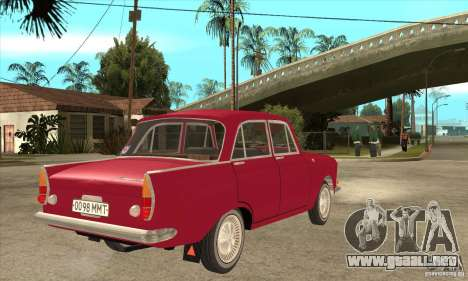 AZLK 408 para la visión correcta GTA San Andreas