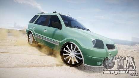 Ford EcoSport para GTA 4 vista desde abajo