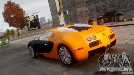 Bugatti Veyron 16.4 para GTA 4 left