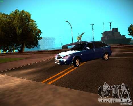 Restajl VAZ-2172 para GTA San Andreas left
