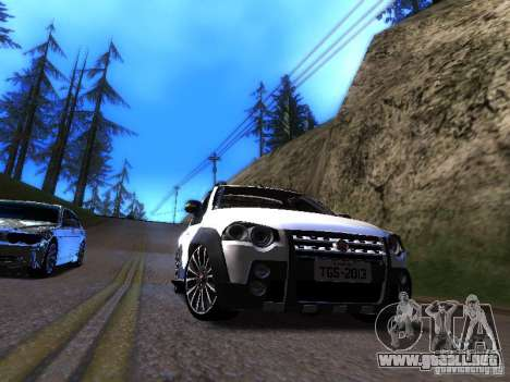 Fiat Strada para GTA San Andreas left