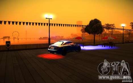 ENBSeries by Inno3D para GTA San Andreas segunda pantalla