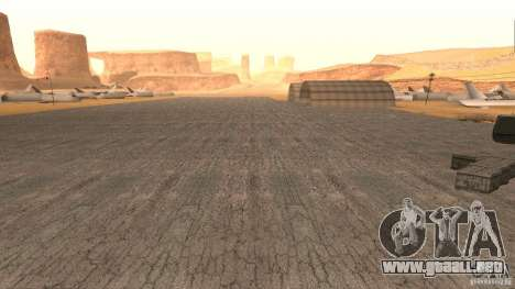 New HQ Roads para GTA San Andreas octavo de pantalla