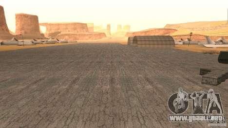 New HQ Roads para GTA San Andreas octavo de pantalla