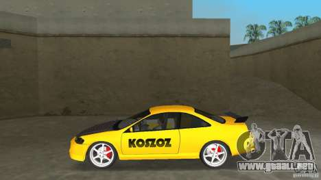 Honda Accord Coupe Tuning para GTA Vice City left