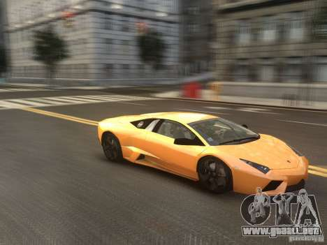 Lamborghini Reventon 2008 para GTA 4 visión correcta