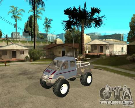GAS KeržaK (Swamp Buggy) para GTA San Andreas