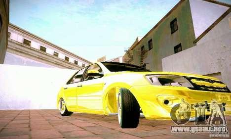 Lada Grant oro para visión interna GTA San Andreas