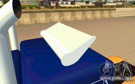 Peterbilt 359 Custom para visión interna GTA San Andreas