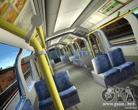 Tren de Londres para GTA 4 segundos de pantalla