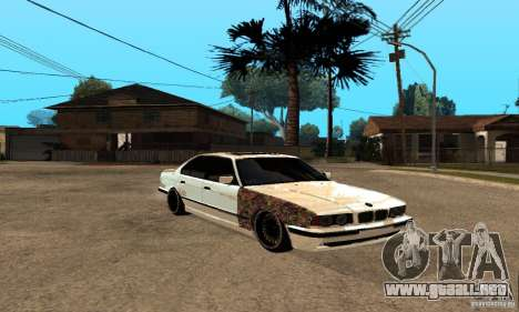 BMW 525 para GTA San Andreas