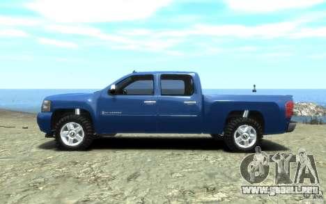 Chevrolet Silverado 2008 para GTA 4 visión correcta