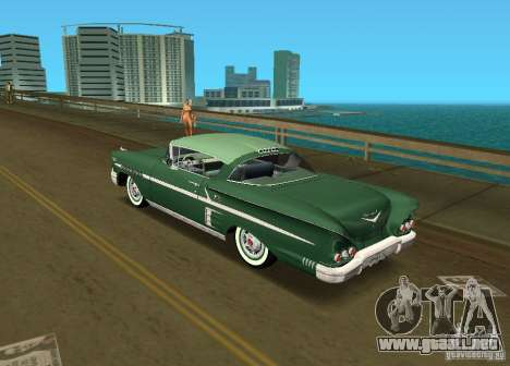 Chevrolet Impala 1958 para GTA Vice City left