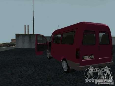 GAZ 2217 Sobol para la visión correcta GTA San Andreas