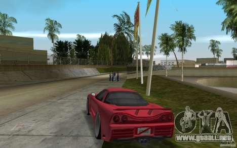 Acura NSX 2004 Veilside para GTA Vice City vista lateral izquierdo
