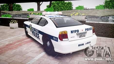 FIB Buffalo NYPD Police para GTA 4 vista lateral