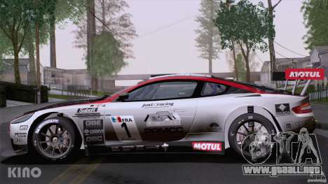 Aston Martin Racing DBRS9 GT3 para vista inferior GTA San Andreas