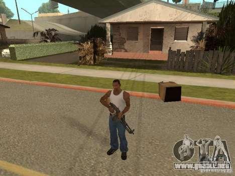 Ametralladora ligera Dâgterëva para GTA San Andreas quinta pantalla