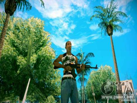 Armas Pack HD para GTA San Andreas sucesivamente de pantalla