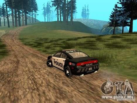 Dodge Charger Canadian Victoria Police 2011 para la visión correcta GTA San Andreas