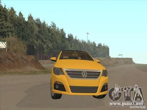 Volkswagen Passat CC para GTA San Andreas vista hacia atrás