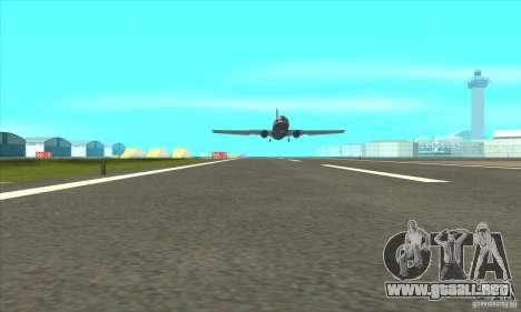 La revitalización de los aeropuertos para GTA San Andreas segunda pantalla