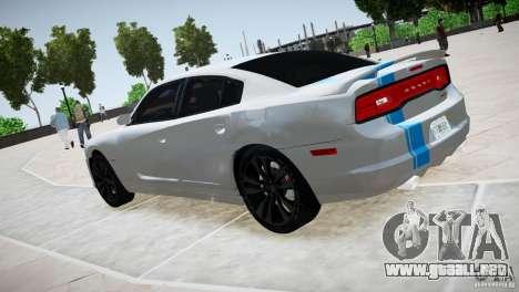 Dodge Charger SRT8 2012 para GTA 4 visión correcta