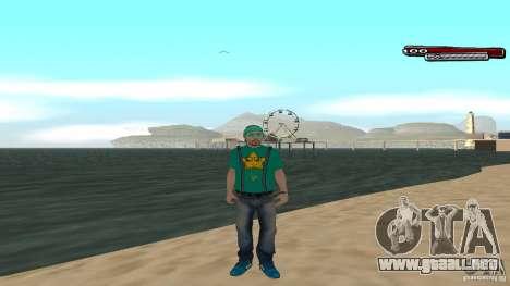 Skin Pack The Rifa Gang HD para GTA San Andreas quinta pantalla