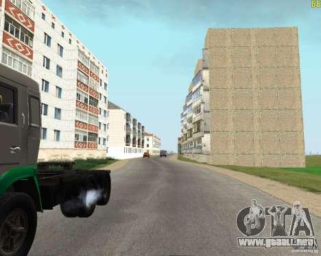 Un Busaevo para los CD para GTA San Andreas quinta pantalla