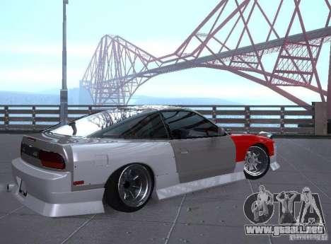Nissan 240SX Tuned para la visión correcta GTA San Andreas