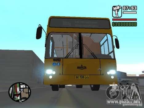 MAZ 103.465 para GTA San Andreas vista posterior izquierda
