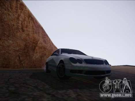 Mercedes-Benz CLK para la visión correcta GTA San Andreas