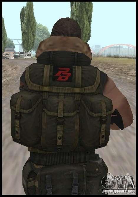 [Point Blank] Terrorist para GTA San Andreas tercera pantalla