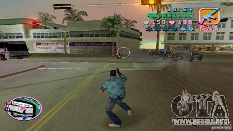 Tiro con una mano para GTA Vice City sucesivamente de pantalla
