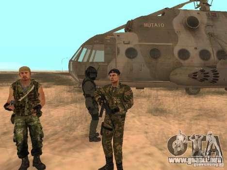 Comando soviético para GTA San Andreas sucesivamente de pantalla