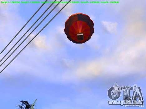 Globo estilo hippie para la visión correcta GTA San Andreas