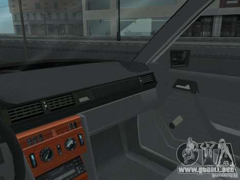 Mercedes-Benz 250D para la vista superior GTA San Andreas