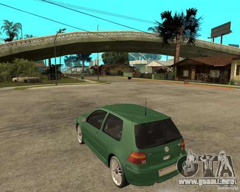 Volkswagen Golf IV GTI para GTA San Andreas left