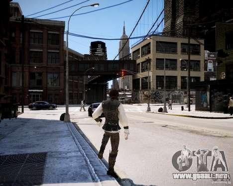 Assasins Creed 2 Young Ezio para GTA 4 adelante de pantalla